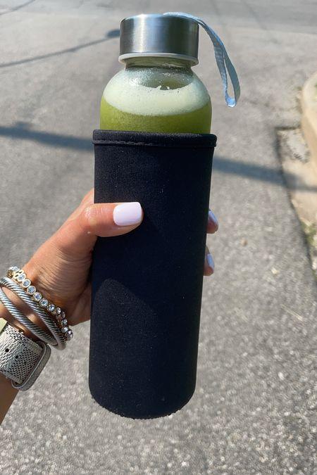 Glass bottle for juices bracelets on sale   #LTKfit #LTKstyletip #LTKunder100