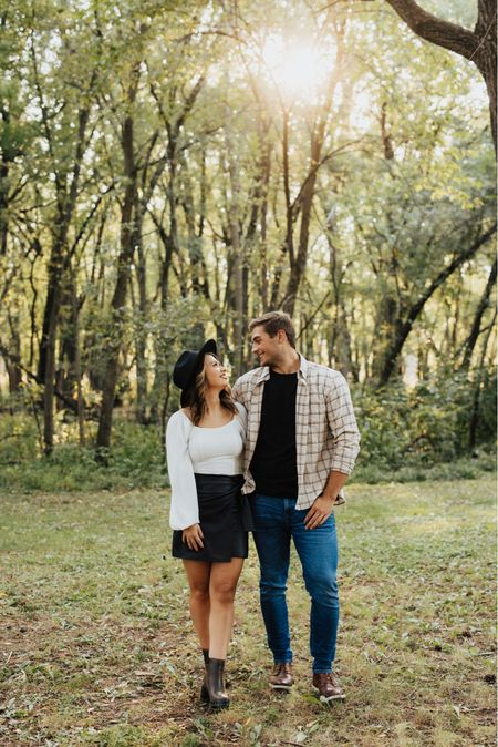 Haley and Cooper got their engagement pictures back, so Haley is sharing fall outfits for a couple photo shoot and poses that always work!   #LTKstyletip #LTKGiftGuide #LTKwedding