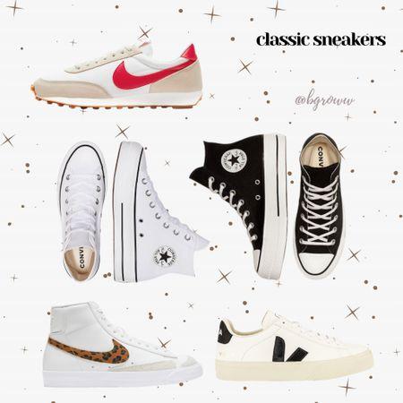 Classic sneakers for spring!  Lots of white & platforms!  http://liketk.it/38Mae #liketkit @liketoknow.it #LTKshoecrush #LTKunder100 #LTKSeasonal