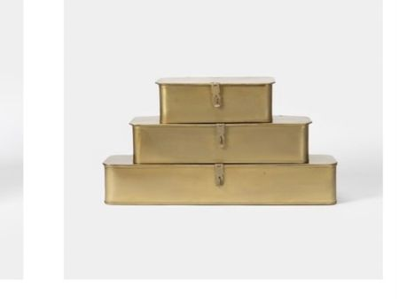 Metal boxes http://liketk.it/3gs5h #liketkit @liketoknow.it #LTKsalealert #LTKunder100 #LTKhome @liketoknow.it.home You can instantly shop my looks by following me on the LIKEtoKNOW.it shopping app