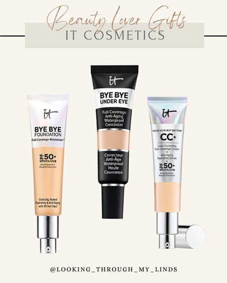 It Cosmetics | skincare | makeup | spf | concealer | foundation | cc cream   #LTKGiftGuide #LTKunder50 #LTKbeauty