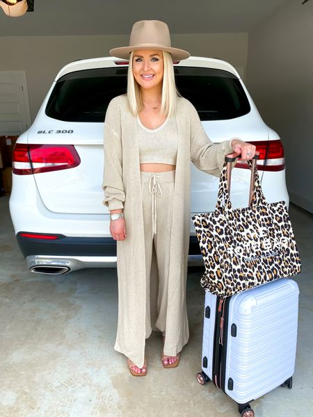 Free People 3 piece set! Travel outfit, travel style.. size: XS  #LTKtravel #LTKSeasonal