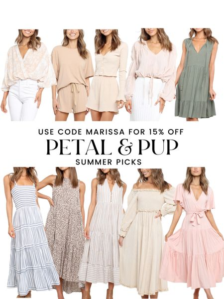 Petal & Pup summer finds! Maxi dresses, rompers, matching sets, summer outfits http://liketk.it/3jfi7 #liketkit @liketoknow.it