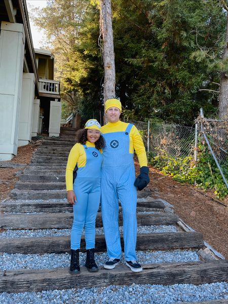 My little minions!! They're too cute in these costumes!   #LTKSeasonal #LTKHoliday #LTKfamily
