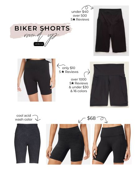 Biker shorts round up! These athleisure shorts are a huge trend right now and I've been thinking I need to get some for this summer... so I've rounded up 6 different biker shorts at different price points! http://liketk.it/3fqVS #liketkit @liketoknow.it #LTKfit #LTKsalealert #LTKunder50