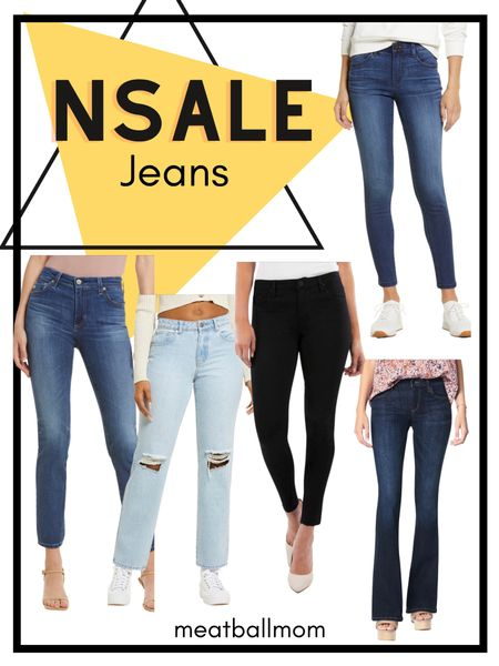 Nordstrom Anniversary Sale Jean picks         #jeans #denim #nordstrom #nsale NSALE    #LTKsalealert #LTKunder100 #LTKstyletip