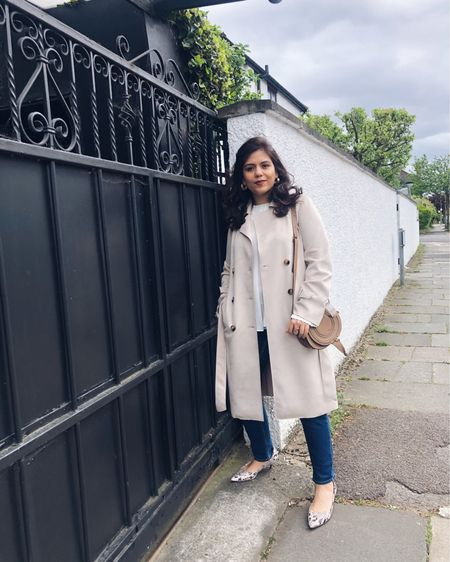 This super versatile sude coat is a wardrobe winner for the mind of weather we have in London at the moment. Just layer this up with a dress or your regular jeans and you are good to go. Shop this one on the @liketoknow.it app. #liketkit http://liketk.it/2Bx7y You can instantly shop my looks by following me on the LIKEtoKNOW.it app #LTKunder100