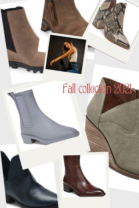 Fall Bootie Styles!!  #LTKSeasonal #LTKshoecrush #LTKstyletip