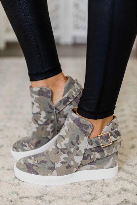 Camo wedge shoe crush 🤍  Pink Lily Shoes for Fall 🤍 womens boots, womens booties, fall shoes, fall boots, womens booties, high heel pumps, neutral heels, neutral shoes, wedding heels, wedding shoes, pumps, neutral pumps, high heels, chunky heels @shop.ltk #liketkit  🥰 Thank you for shoe shopping with me! XO Christin  #LTKshoecrush #LTKstyletip #LTKcurves #LTKfamily #LTKsalealert #LTKfit #LTKunder50 #LTKunder100 #LTKworkwear