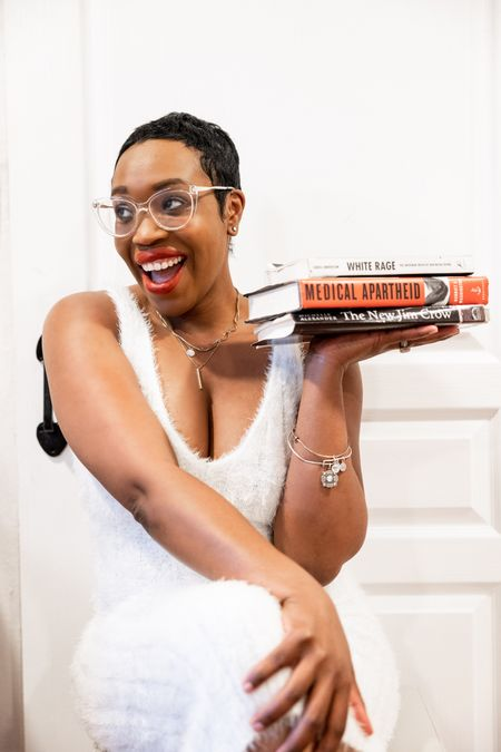 I took these books from my dad sometime last year and have yet to read  them 🙈 In honor of this Black History Month these are the three Black AF books on my reading list!   Shop the dress, lippie, glasses and books on my @liketoknow.it profile! Download the LIKEtoKNOW.it app to shop this pic via screenshot #liketkit #LTKhome #LTKfit #LTKstyletip http://liketk.it/37HNu