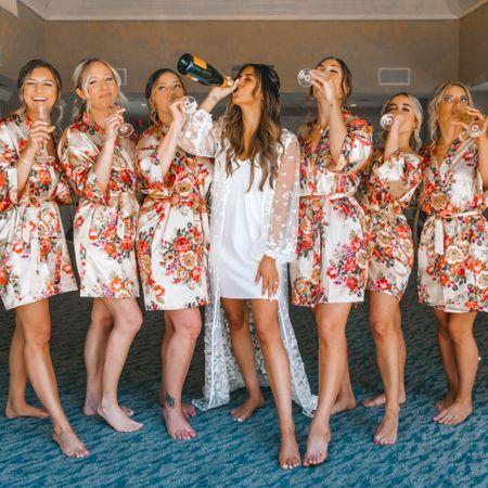 Bridal and Bridesmaid Robes   http://liketk.it/3i8lf #liketkit @liketoknow.it @liketoknow.it.brasil @liketoknow.it.europe @liketoknow.it.family @liketoknow.it.home #LTKunder100 #LTKstyletip #LTKwedding