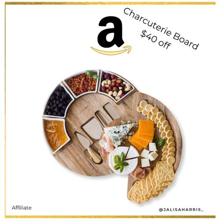 Charcuterie Cheese Board $40 off   #LTKhome #LTKunder50 #LTKfamily