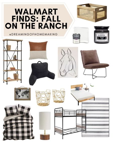Walmart finds! Fall on the ranch!!  Dreaming of Homemaking | #DreamingofHomemaking   #LTKunder50 #LTKunder100 #LTKhome