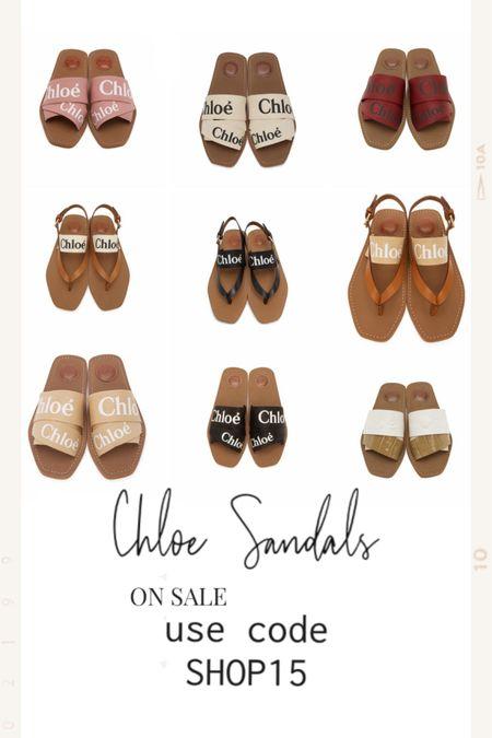 Chloe sandals 15% off. Code SHOP15 http://liketk.it/3drWa @liketoknow.it #liketkit #ltksalealert #chloe #vacation