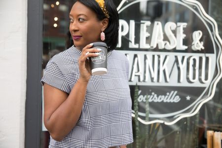 http://liketk.it/2Fvtb Are you a first thing in the morning coffee type person? #ButFirstCoffee ☕️  . . Head to the blog via link in profile where I talk about one of my favorite #louisville coffee shops and why I am so here for this plaid/houndstooth moment ❤️ . . Shop my daily looks by following me on the LIKEtoKNOW.it shopping app #liketkit @liketoknow.it #LTKcurves #LTKbeauty #LTKstyletip #LTKunder50