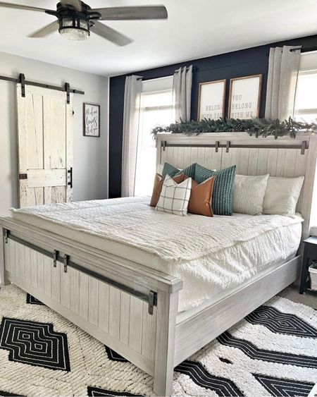 Nothin better than a fresh made bed! http://liketk.it/33sH7 #liketkit @liketoknow.it #LTKhome @liketoknow.it.home Screenshot this pic to get shoppable product details with the LIKEtoKNOW.it shopping app