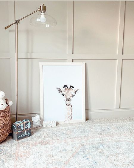 Baby #3 is getting a fresh nursery, complete with our DIY accent wall. http://liketk.it/2Srsq #liketkit @liketoknow.it