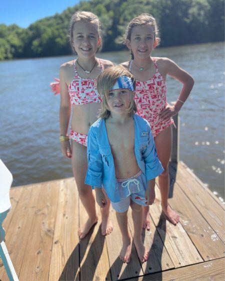 Lake season is here! Loving these swimsuits  http://liketk.it/3gA0q #liketkit @liketoknow.it #LTKkids #LTKswim