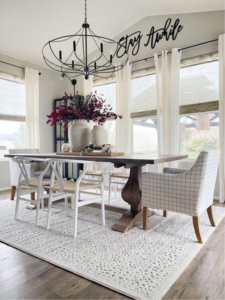 Sunroom dining room design!   #LTKhome #LTKSeasonal #LTKHoliday