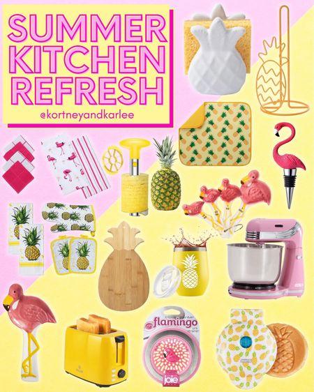 Summer Kitchen Refresh!!  Amazon kitchen finds | glass food storage containers | glass tumblers | amazon kitchen gadgets | kitchen canisters | cooking utensils set | Amazon Kitchen organization | kitchen finds from amazon | amazon glam kitchen | kitchen finds | glam kitchen finds | glam kitchen favorites | Kortney and Karlee | #Kortneyandkarlee #LTKunder50 #LTKunder100 #LTKsalealert #LTKstyletip #LTKSeasonal #LTKhome @liketoknow.it #liketkit http://liketk.it/3hM3A