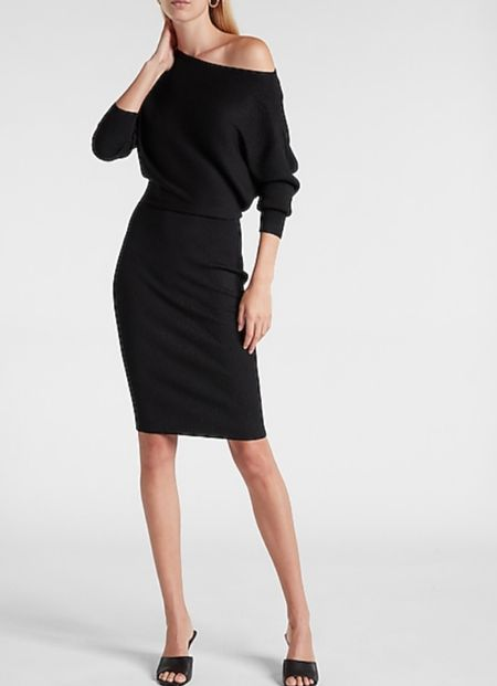 Off the Shoulder Midi Dress On Sale  #LTKSale #LTKstyletip #LTKtravel