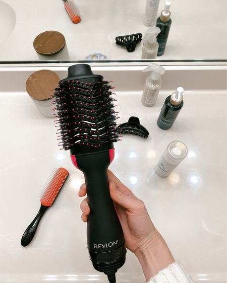 REVLON one-step hair dryer and volumizer hot air brush. {full review on Tea Cups & Tulips blog}  The brush is currently on sale for $42!  http://liketk.it/36dj8 #liketkit @liketoknow.it #LTKunder50 #LTKbeauty #LTKsalealert