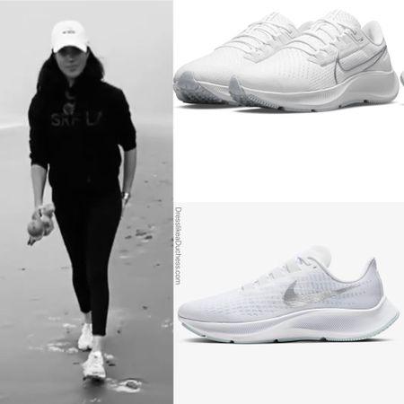Meghan wearing Nike Pegasus sneakers similar at the NSALE #sneakers #fitness #workout   #LTKshoecrush #LTKsalealert