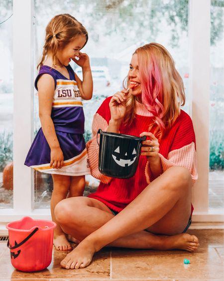 Loving the Halloween candy and the color blocking trend! Linked this plus sized sweater and a similar one in their normal size range.  http://liketk.it/2y27V #liketkit @liketoknow.it #LTKfamily #LTKbump #LTKcurves #LTKkids #LTKsalealert #LTKstyletip #LTKunder50 #LTKunder100