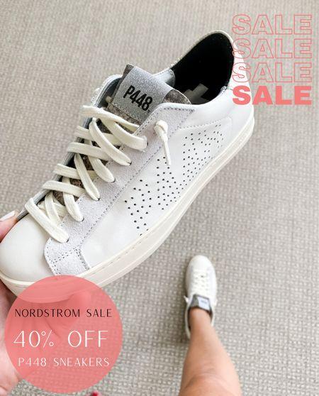Nordstrom Sale | P448 Sneakers tts 40% off  P448 Sneakers Nordstrom Sale Sneakers True to Size   #LTKshoecrush #LTKunder50 #LTKsalealert
