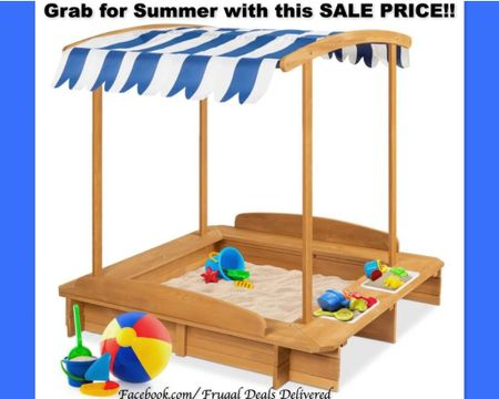 Won't work for a coffee table or your living room or master bedroom - but I love it for spring, summer and fall! Grab before the price goes up again! Kids sandbox outdoor toys, play sand pool porch toys   Screenshot this pic to get shoppable product details with the LIKEtoKNOW.it shopping app #liketkit @liketoknow.it http://liketk.it/3jrIc    @liketoknow.it.family @liketoknow.it.home #LTKsalealert #LTKfamily