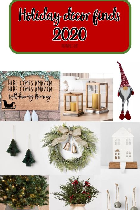 Best of holiday decor 2020   http://liketk.it/30k5A #liketkit @liketoknow.it   #StayHomeWithLTK #LTKunder100 #LTKunder50