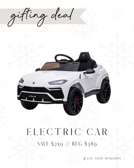 Might need to get this for the kids for Christmas! Electric Lamborghini car for $130 off!  #LTKHoliday #LTKGiftGuide #LTKSeasonal