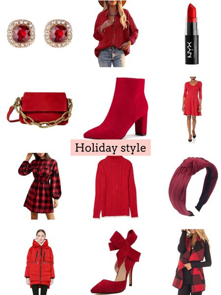 Holiday style   Follow my shop @ashleyjennany on the @shop.LTK app to shop this post and get my exclusive app-only content!  #liketkit #LTKunder50 #LTKSeasonal #LTKHoliday @shop.ltk http://liketk.it/3qs9j