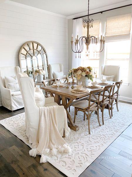 Fall decor, lady bird in natural, home decor, dining room   #LTKHoliday #LTKhome #LTKSeasonal
