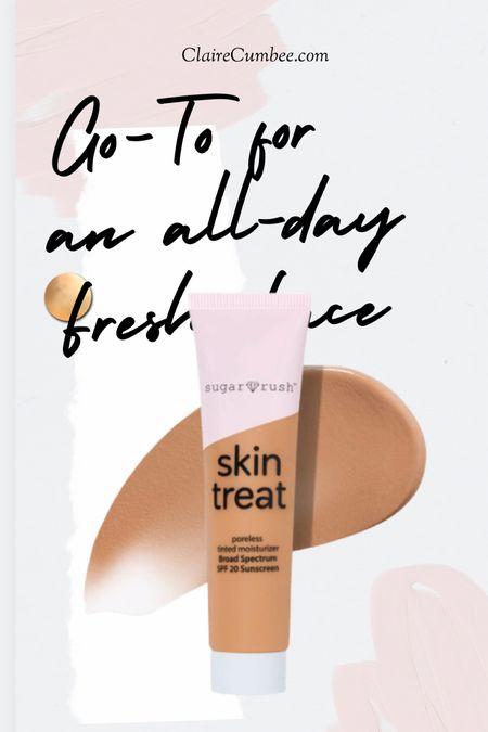 Tarte makeup Tinted moisturizer  Spf 20 Mature skin Outdoor makeup On the go beauty Sephora Ulta Beauty must have Skincare  #LTKbeauty #LTKfit #LTKstyletip
