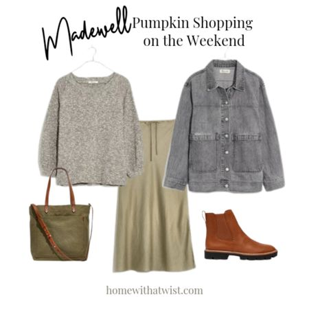 Wanna pick pumpkins this weekend? Madewell has you covered. http://liketk.it/3pAYD @liketoknow.it #liketkit #LTKSeasonal #LTKstyletip Download the LIKEtoKNOW.it app to shop this pic via screenshot