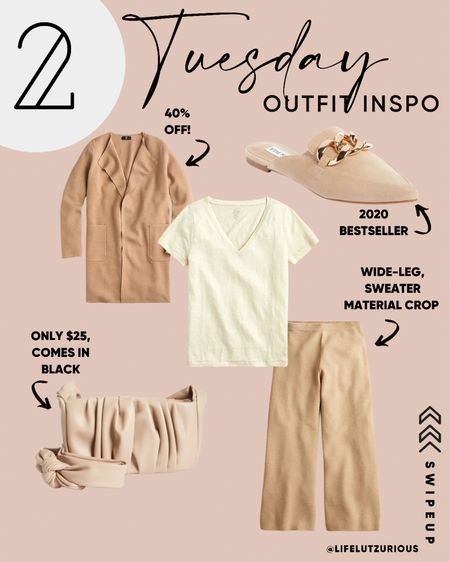 Tuesday Outfit Inspiration - Fall workwear outfit, fall neutral outfit, fall sale   #LTKSeasonal #LTKsalealert #LTKstyletip
