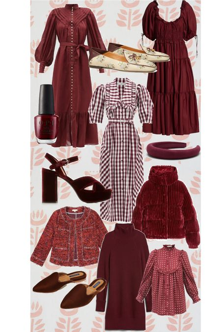 Burgundy fashion finds!  #LTKstyletip #LTKshoecrush #LTKSeasonal