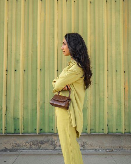 Like green trouser set ☘️✨ http://liketk.it/3gztZ #liketkit @liketoknow.it #LTKstyletip #LTKunder50 #LTKworkwear