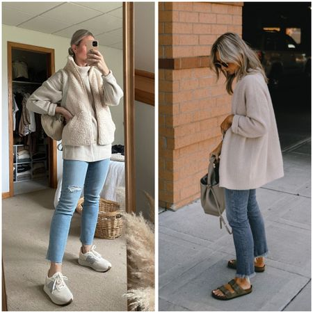Madewell perfect vintage jeans are the best jeans! I size down    #LTKSeasonal