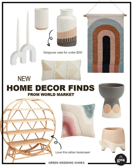 Some of my fave new home decor finds from World Market!   #StayHomeWithLTK #LTKhome #LTKstyletip http://liketk.it/37i7z #liketkit @liketoknow.it