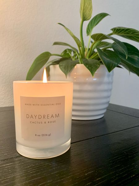 Yummy smelling candle!
