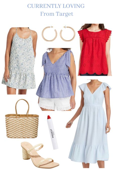Fourth of July outfit ideas. Summer style. Target fines. Affordable fashion.  #LTKSeasonal #LTKstyletip #LTKunder50
