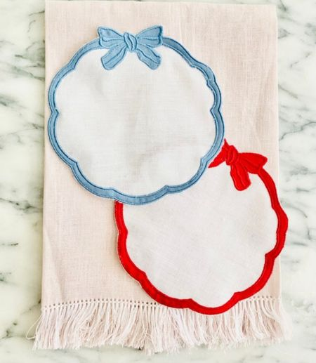 Cocktail napkins hostess gifts by Charleston Cotton   #LTKHoliday