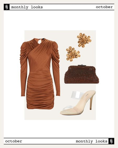 October fall outfit idea #falloutfits #weddibgguest   #LTKunder100 #LTKwedding #LTKstyletip