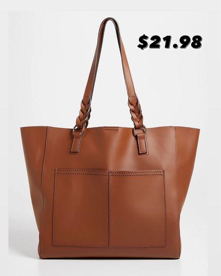 Cognac tote bag / Maurices purse / sale http://liketk.it/3k0El #liketkit @liketoknow.it #LTKitbag #LTKunder50 #LTKsalealert