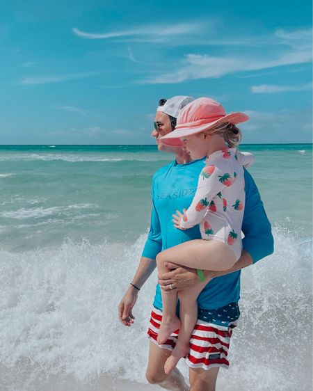 Daddy and daughter swim- beach clothes http://liketk.it/3gBz3 #liketkit @liketoknow.it  #LTKfamily #LTKmens #LTKswim