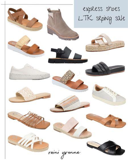 Express Shoes LTK Spring Sale  http://liketk.it/3cwea @liketoknow.it #liketkit   #LTKSpringSale #LTKshoecrush #LTKunder100  Shoes, Sandals, Sneakers, Booties, Slip Ons, Wedding Guest Outfit, Summer Fashion, Spring Fashion, Summer Outfit, Spring Outfit, Wedges, Sale, Express