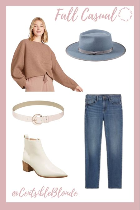 Casual fall style Weekend style  Affordable outfit     #LTKshoecrush #LTKunder50 #LTKstyletip