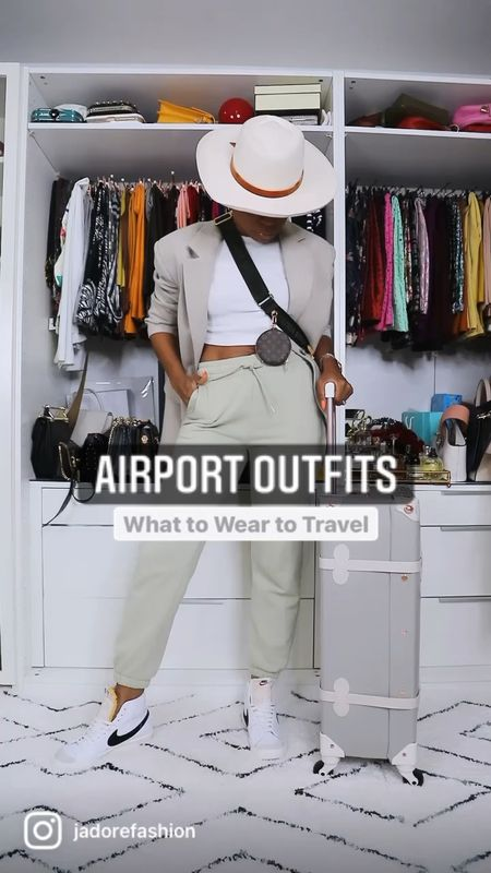 Airport and travel outfit ideas   #LTKstyletip #LTKtravel #LTKunder100